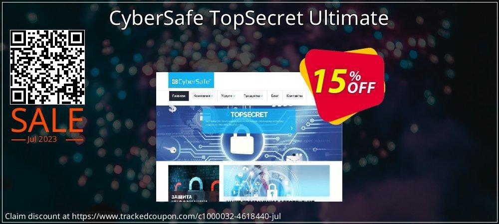 Get 10% OFF CyberSafe TopSecret Ultimate sales