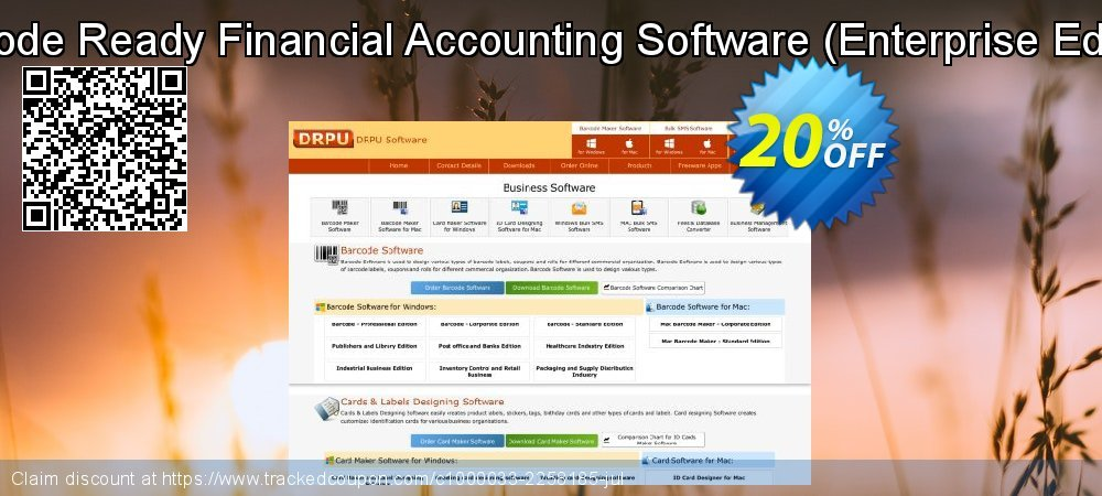 Barcode Ready Financial Accounting Software - Enterprise Edition  coupon on Easter Sunday offering discount