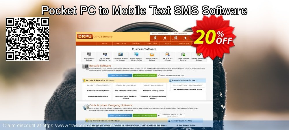Pocket PC to Mobile Text SMS Software coupon on April Fool's Day discount