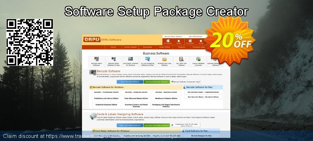 Software Setup Package Creator coupon on Easter Sunday offer