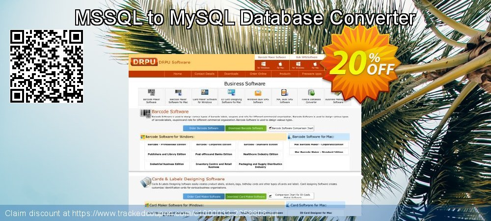 MSSQL to MySQL Database Converter coupon on April Fool's Day super sale