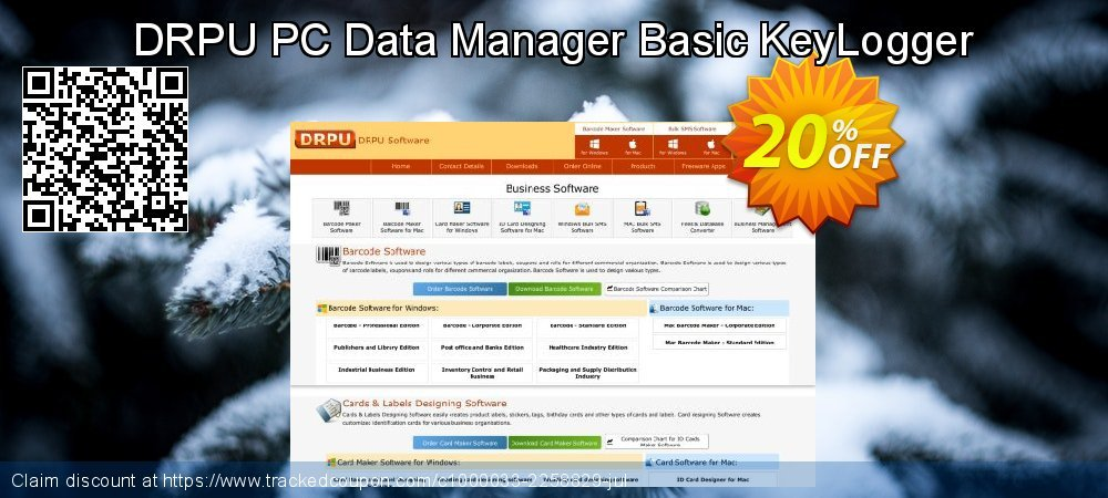 DRPU PC Data Manager Basic KeyLogger coupon on Valentine's Day discounts