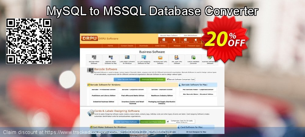 MySQL to MSSQL Database Converter coupon on Read Across America Day offer