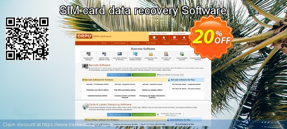 SIM card data recovery Software coupon on Valentines Day discounts
