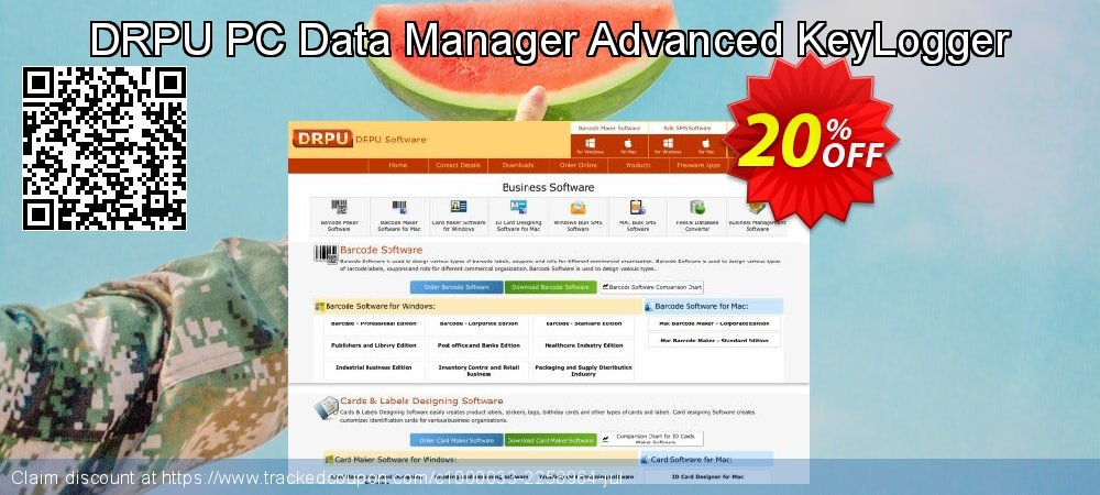 DRPU PC Data Manager Advanced KeyLogger coupon on April Fool's Day sales