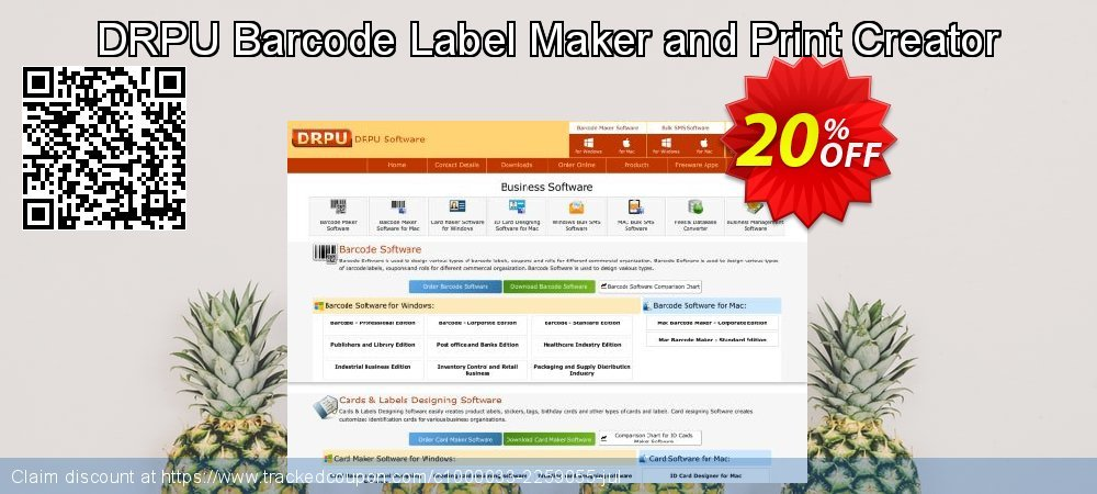 DRPU Barcode Label Maker and Print Creator coupon on Spring deals