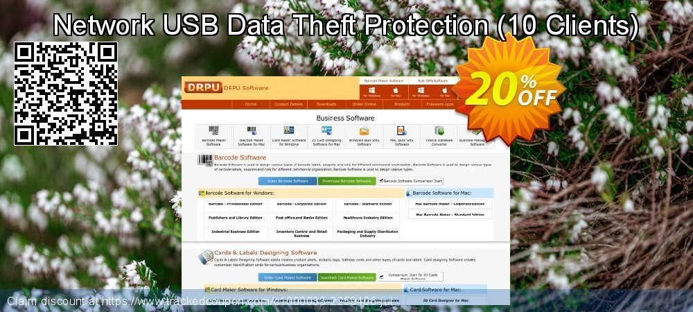 Network USB Data Theft Protection - 10 Clients  coupon on Natl. Doctors' Day sales