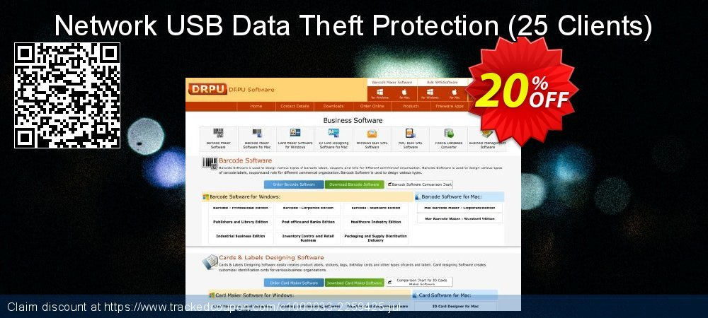 Network USB Data Theft Protection - 25 Clients  coupon on Valentine Week sales
