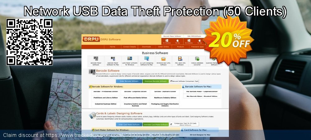 Network USB Data Theft Protection - 50 Clients  coupon on Int'l. Women's Day offering discount
