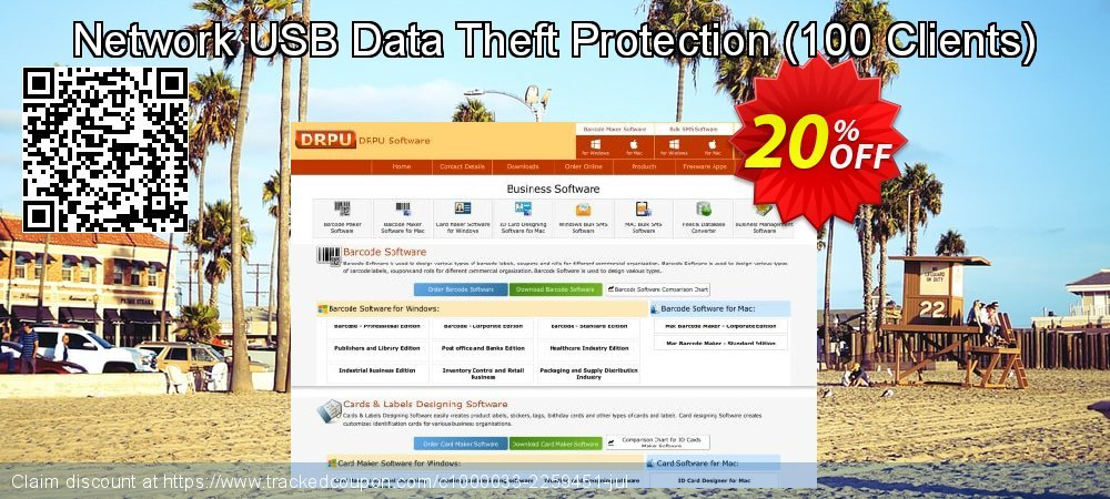 Network USB Data Theft Protection - 100 Clients  coupon on Natl. Doctors' Day sales