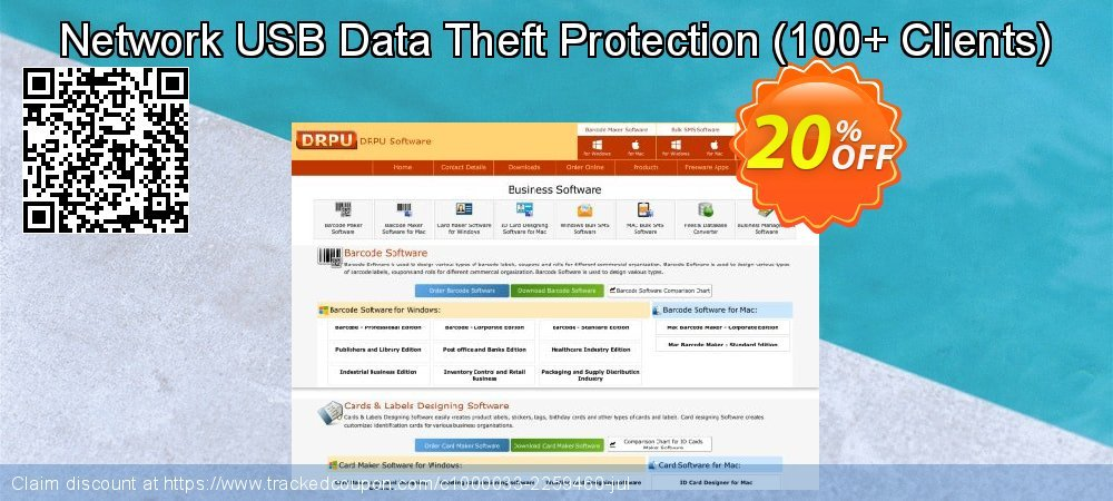 Network USB Data Theft Protection - 100+ Clients  coupon on Natl. Doctors' Day sales