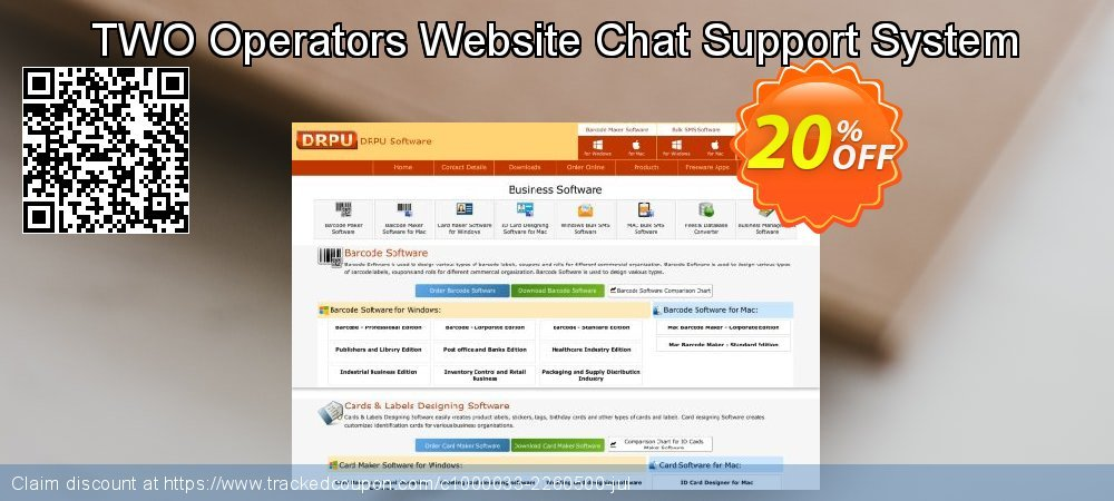 Get 20% OFF TWO Operators Website Chat Support System promotions