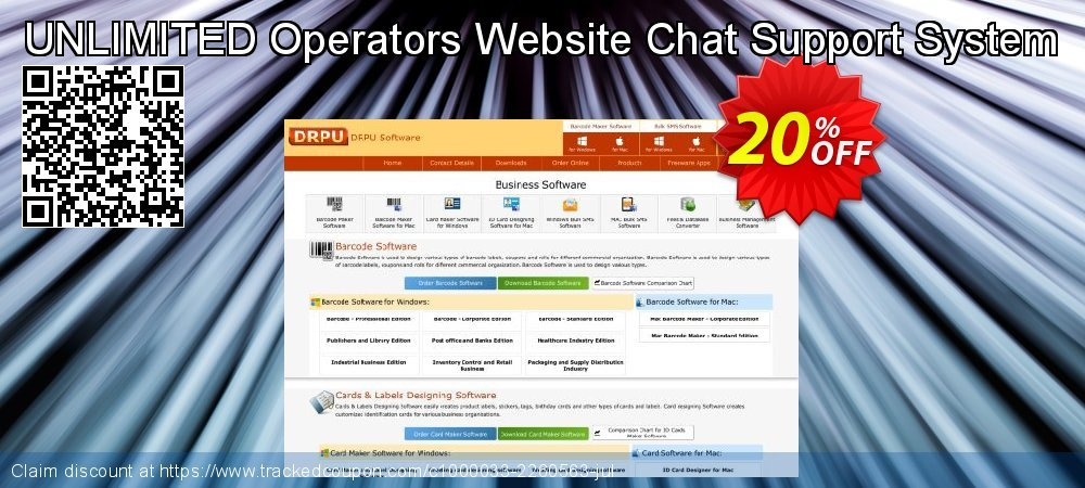 UNLIMITED Operators Website Chat Support System coupon on Spring super sale