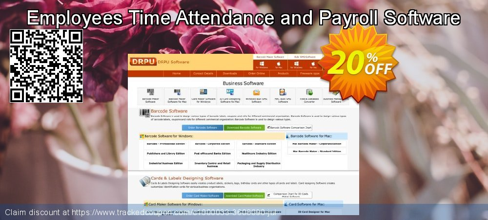 Employees Time Attendance and Payroll Software coupon on Year-End discounts