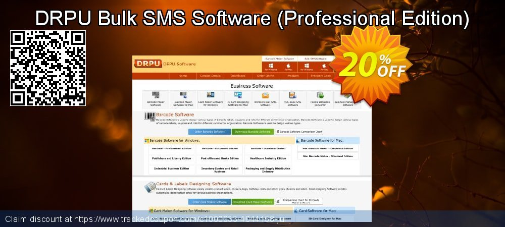 DRPU Bulk SMS Software - Professional Edition  coupon on Easter promotions