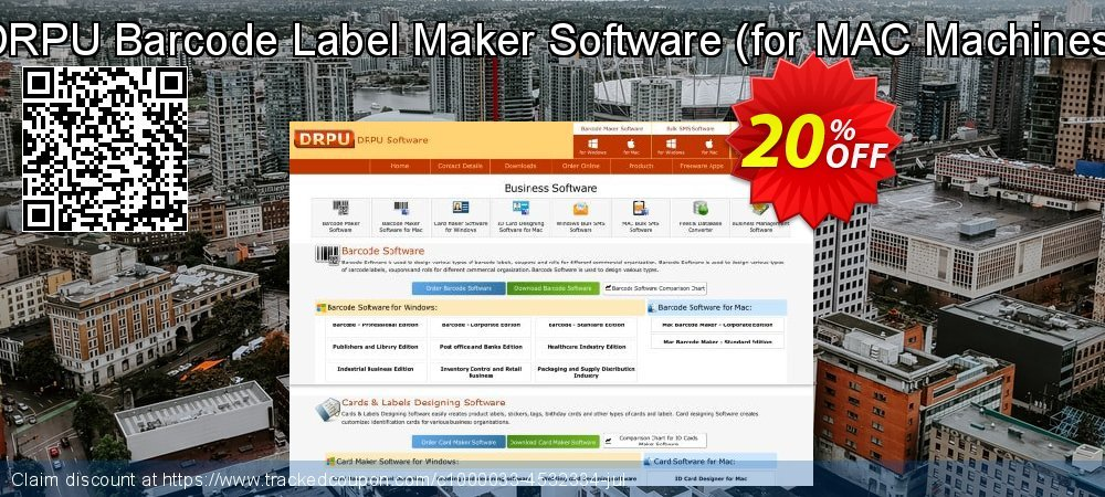 DRPU Barcode Label Maker Software - for MAC Machines  coupon on Easter super sale