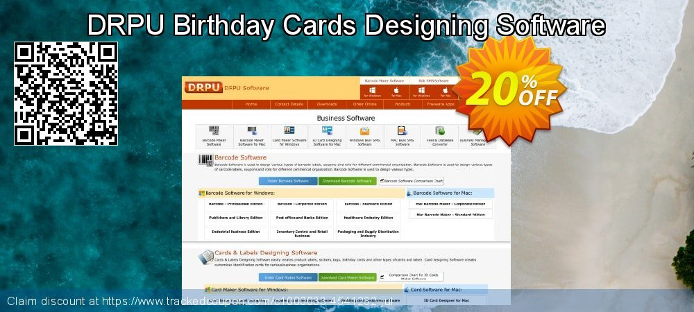 DRPU Birthday Cards Designing Software coupon on April Fool's Day discount