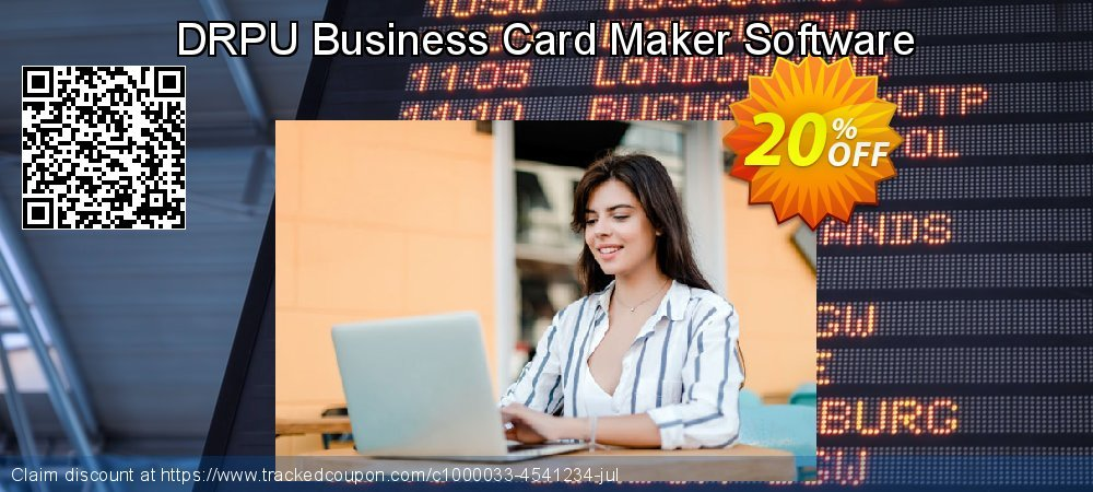 DRPU Business Card Maker Software coupon on Easter offering sales