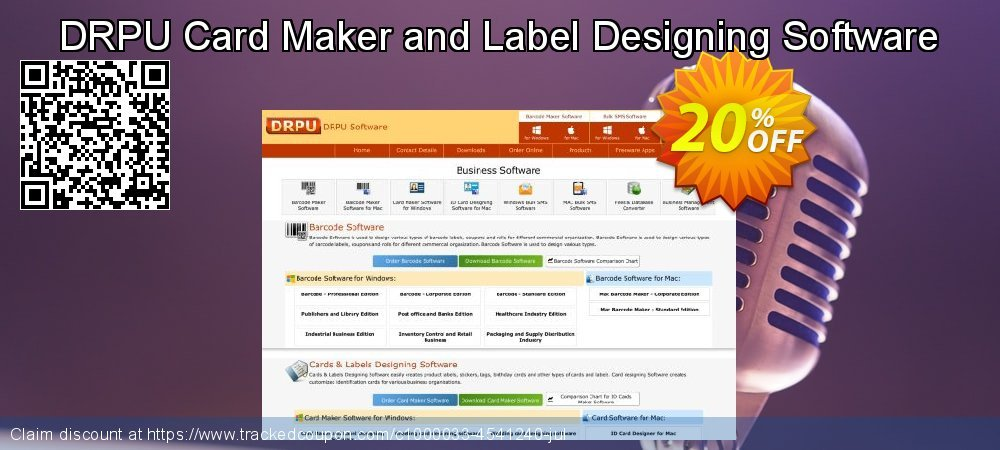 DRPU Card Maker and Label Designing Software coupon on April Fool's Day offer