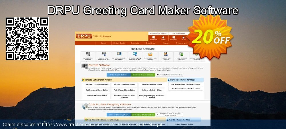 DRPU Greeting Card Maker Software coupon on Easter promotions