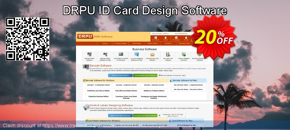Get 20% OFF DRPU ID Card Design Software offering sales