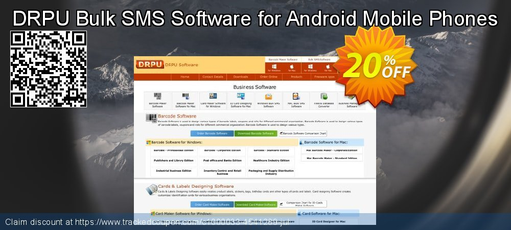 DRPU Bulk SMS Software for Android Mobile Phones coupon on Easter Sunday super sale