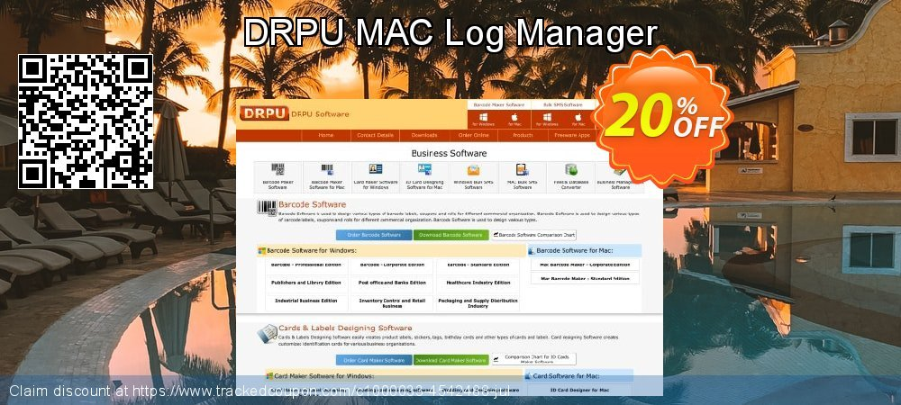 DRPU MAC Log Manager coupon on April Fool's Day promotions