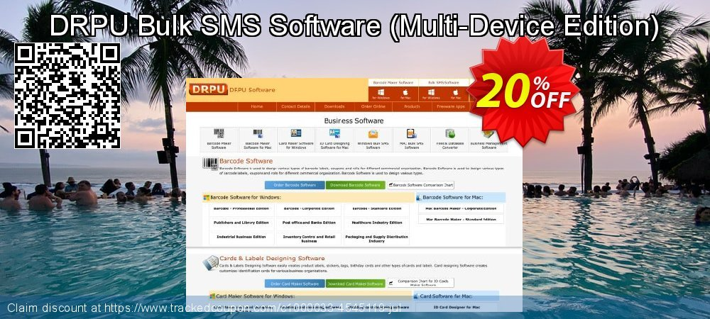 DRPU Bulk SMS Software - Multi-Device Edition  coupon on Spring offer