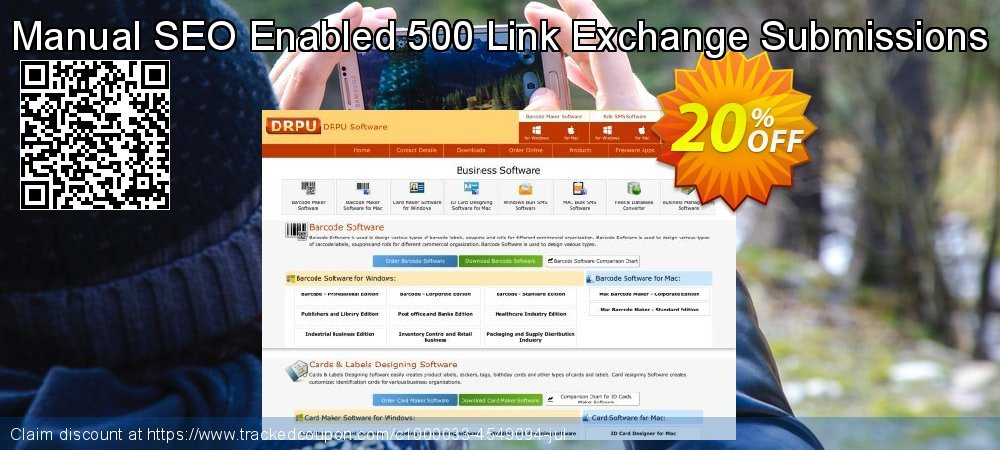 Manual SEO Enabled 500 Link Exchange Submissions coupon on Easter promotions