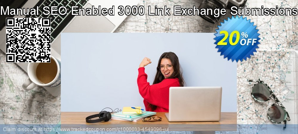 Manual SEO Enabled 3000 Link Exchange Submissions coupon on April Fool's Day deals