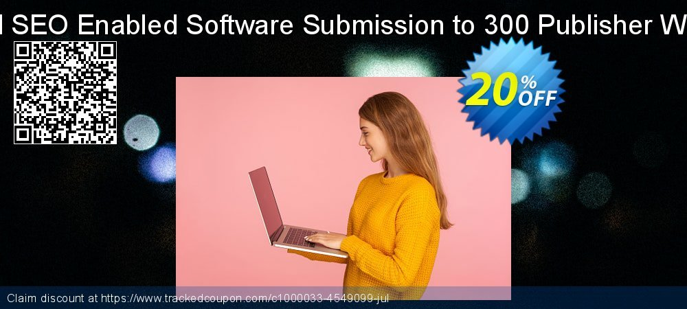 Manual SEO Enabled Software Submission to 300 Publisher Websites coupon on Father's Day super sale