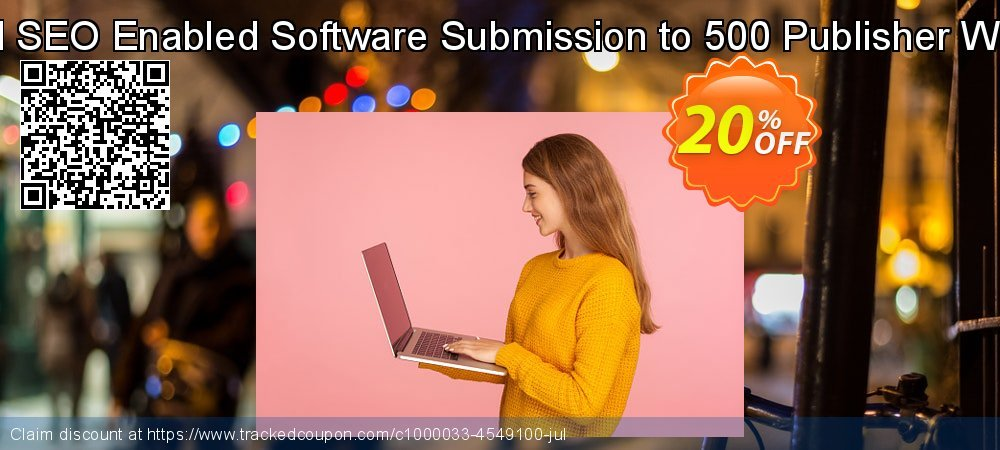 Manual SEO Enabled Software Submission to 500 Publisher Websites coupon on April Fool's Day offering sales