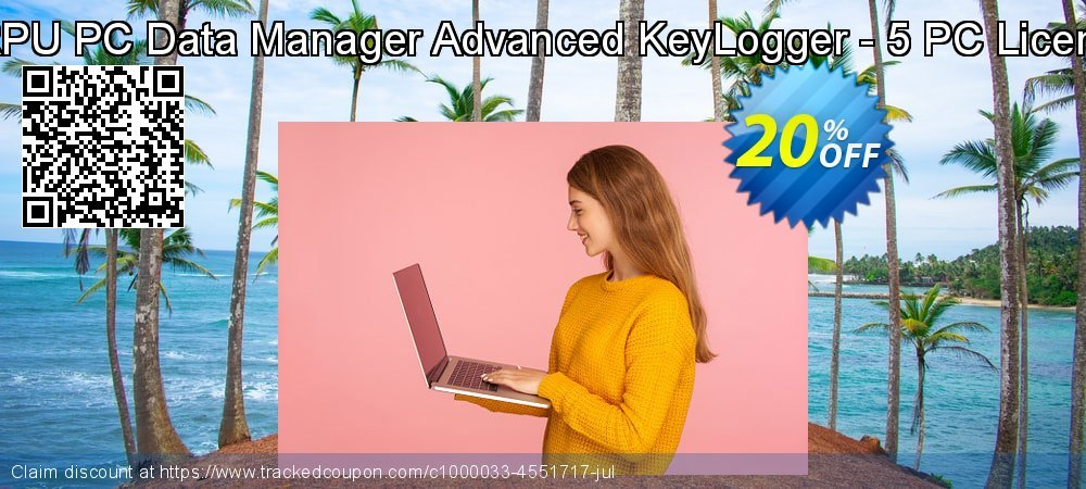 DRPU PC Data Manager Advanced KeyLogger - 5 PC Licence coupon on Easter Sunday discount
