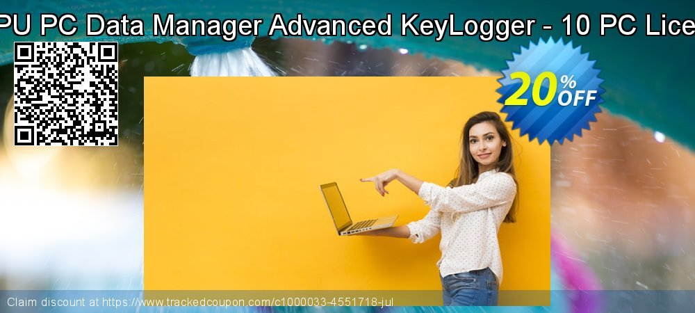 DRPU PC Data Manager Advanced KeyLogger - 10 PC Licence coupon on Easter offering discount