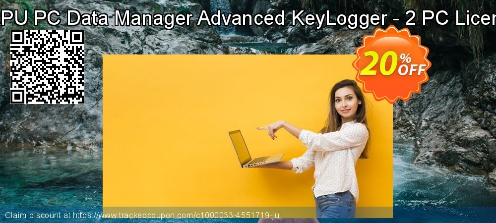 DRPU PC Data Manager Advanced KeyLogger - 2 PC Licence coupon on Spring offering sales