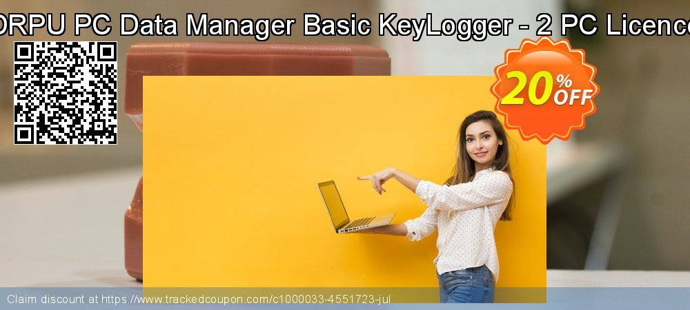 DRPU PC Data Manager Basic KeyLogger - 2 PC Licence coupon on Spring sales
