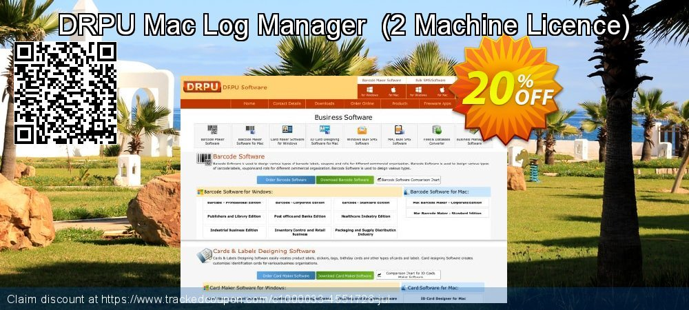 DRPU Mac Log Manager  - 2 Machine Licence  coupon on Easter discount