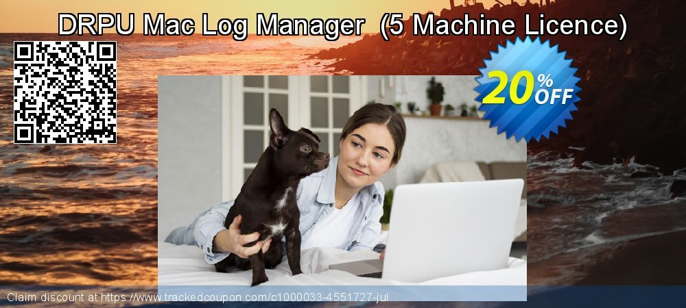 DRPU Mac Log Manager  - 5 Machine Licence  coupon on Spring offering discount