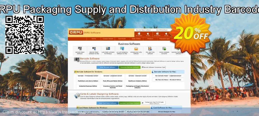 DRPU Packaging Supply and Distribution Industry Barcodes coupon on Spring deals