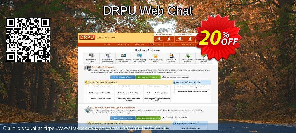 DRPU Web Chat coupon on Spring offering sales