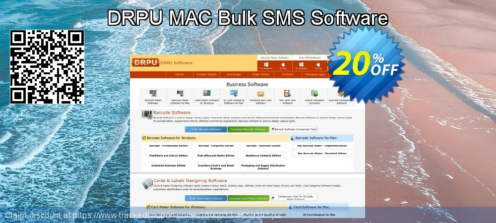DRPU MAC Bulk SMS Software coupon on Easter Sunday offer