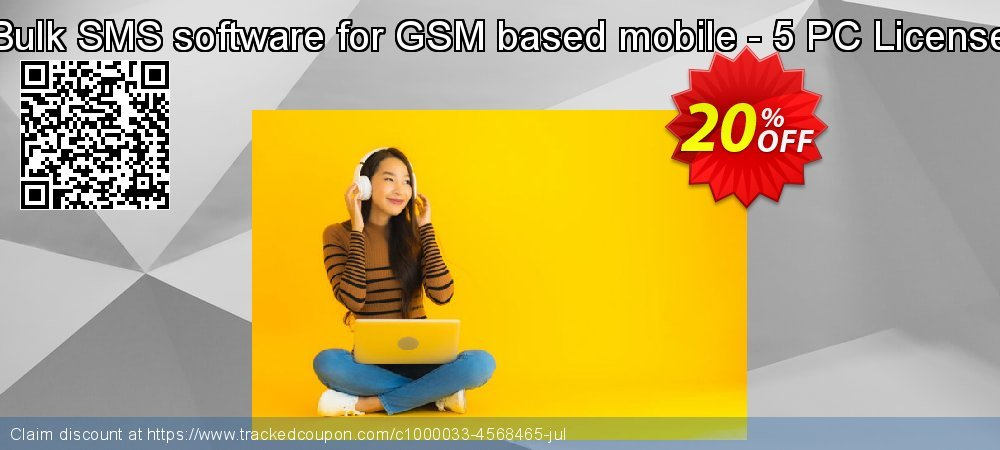 Bulk SMS software for GSM based mobile - 5 PC License coupon on Easter Sunday offer