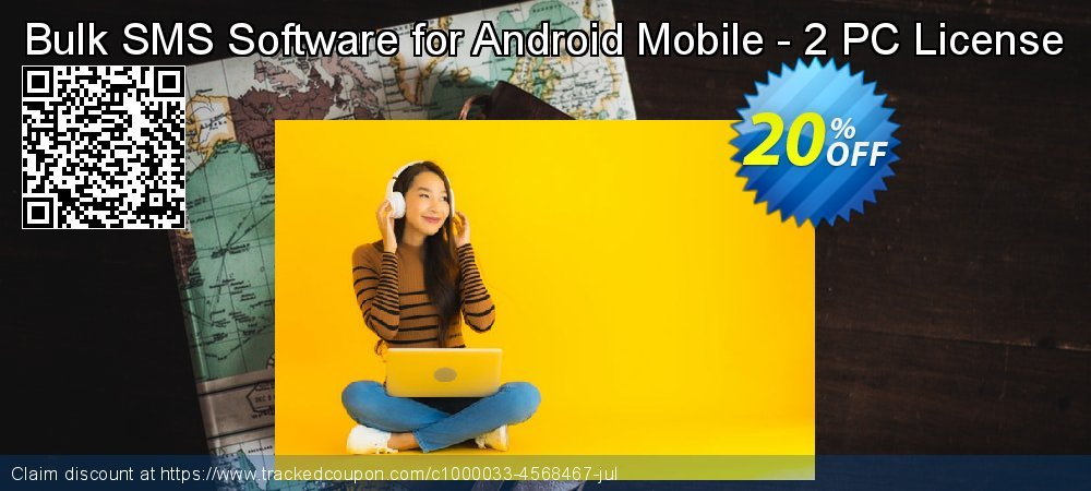 Bulk SMS Software for Android Mobile - 2 PC License coupon on Spring offering discount