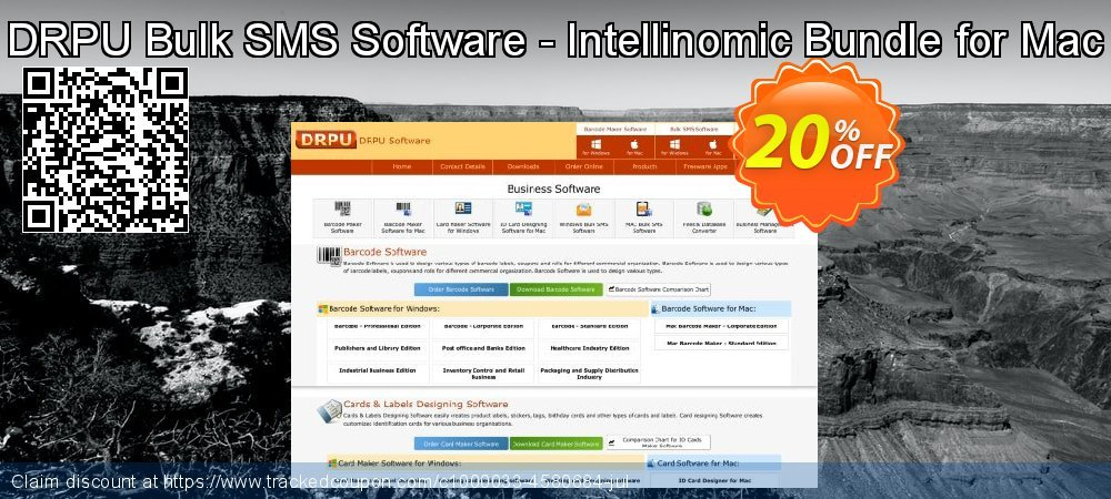 DRPU Bulk SMS Software - Intellinomic Bundle for Mac coupon on April Fool's Day promotions