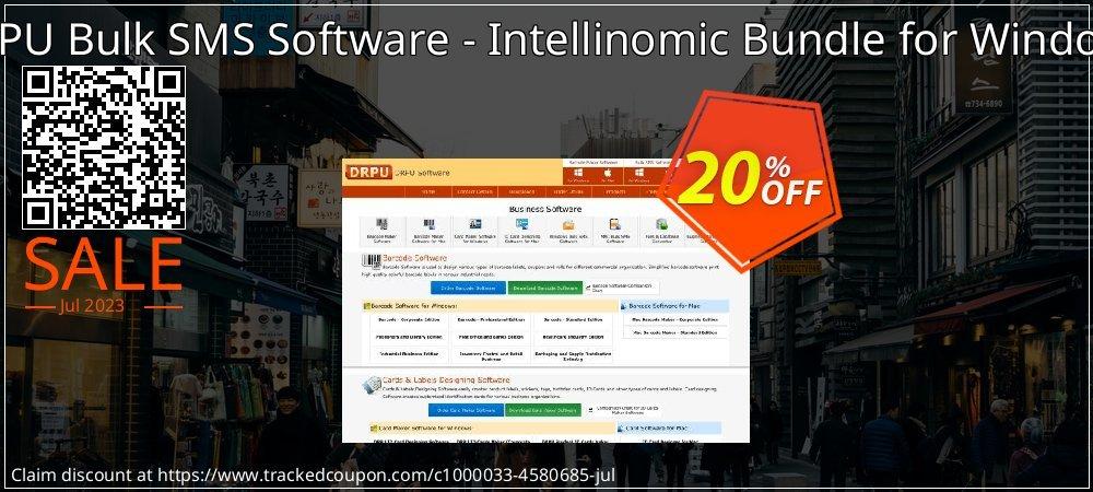 DRPU Bulk SMS Software - Intellinomic Bundle for Windows coupon on Easter Sunday sales