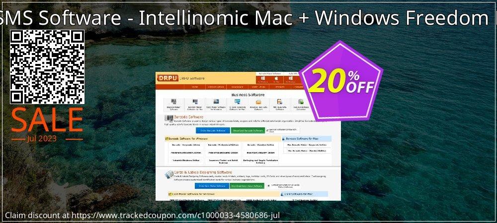 DRPU Bulk SMS Software - Intellinomic Mac + Windows Freedom Pack Bundle coupon on Easter deals