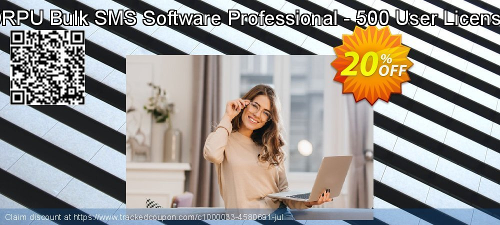 DRPU Bulk SMS Software Professional - 500 User License coupon on Spring super sale
