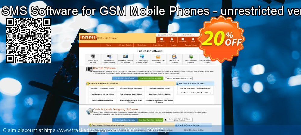 Bulk SMS Software for GSM Mobile Phones - unrestricted version coupon on Spring discounts