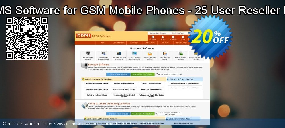 Bulk SMS Software for GSM Mobile Phones - 25 User Reseller License coupon on Easter Sunday promotions