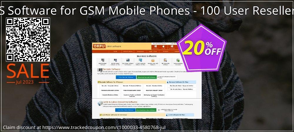 Bulk SMS Software for GSM Mobile Phones - 100 User Reseller License coupon on April Fool's Day offer
